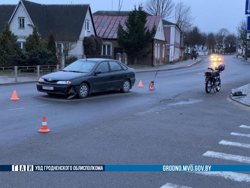 Авария в Ошмянах 5 апреля