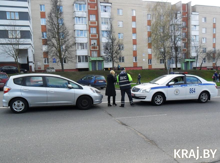 Авария в Молодечно 30 апреля. Фото kraj.by