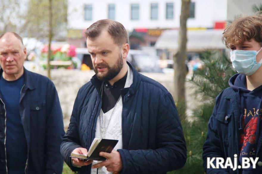 Иерей Александр Капуцкий. Фото Михаила Маржевского, kraj.by