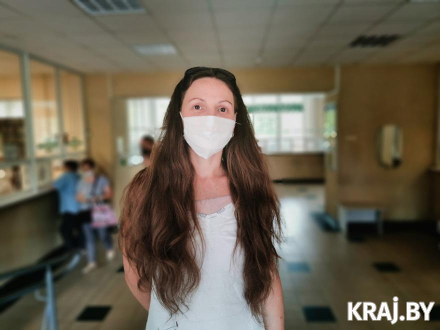 Виктория Калач. Фото Михаила Маржевского, Kraj.by
