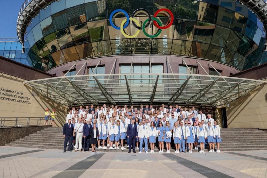 Сборная Беларуси для участия в Олимпиаде-2021