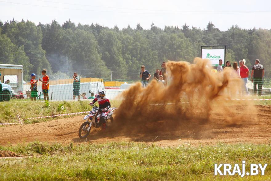 Соревнования по мотокроссу прошли в Молодечно 24 июля. Фото Михаила Маржевского, Kraj.by