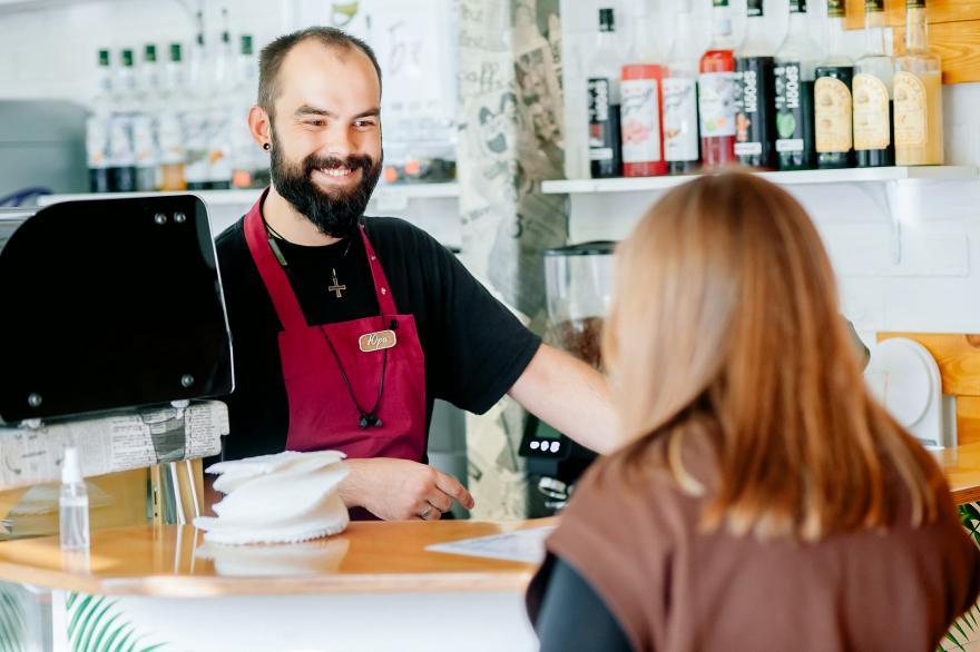 Улыбка – фишка новой кофейни