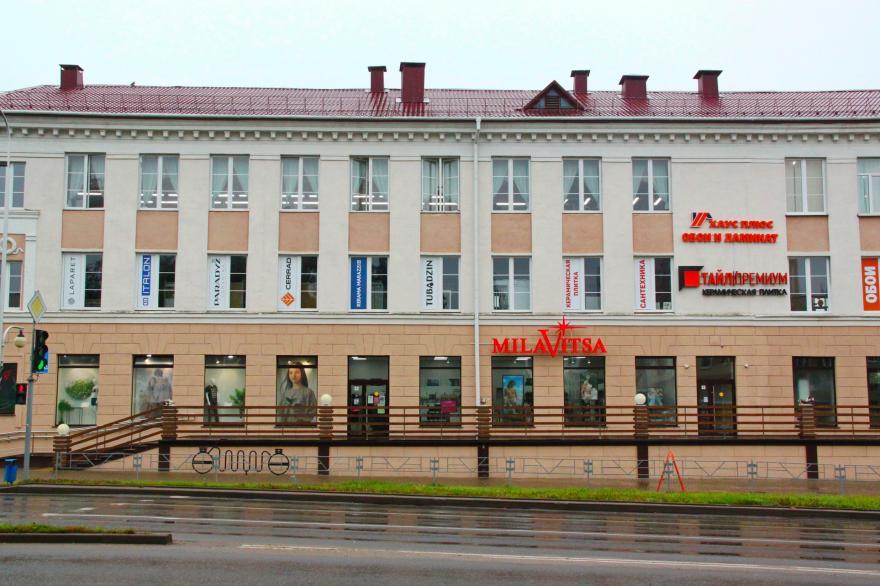 Магазин обоев находится в ТЦ Березка в Молодечно