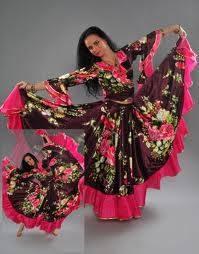 Цыганские костюмы фото своими руками