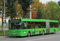 В Молодечно отменены некоторые городские и пригородные маршруты автобусов.