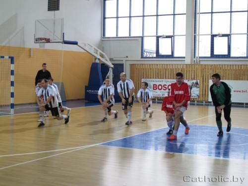 В Лиде пройдет чемпионат Европы по мини-футболу среди священнослужителей