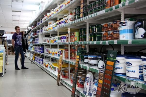 Новый магазин товаров для строительства, ремонта и обустройства домашнего быта