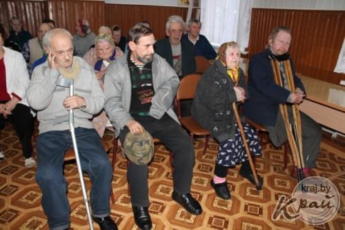 Куренецкий дом престарелых тренажеры для пожилых для дома купить