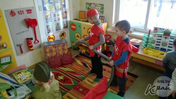 Фото уголок обж в детском саду