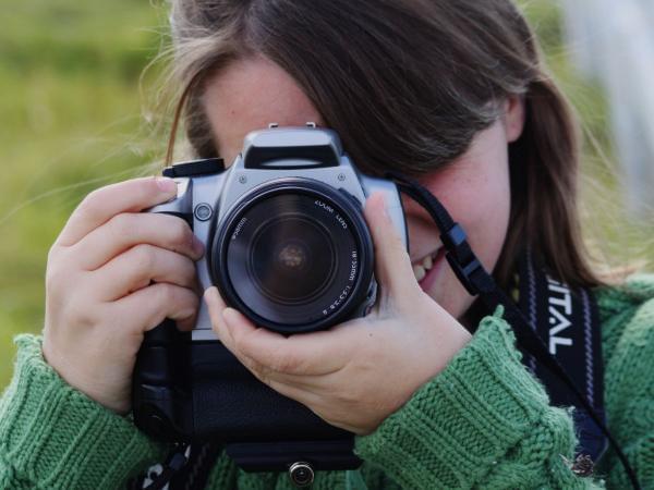 Фотоаппаратом знакомство