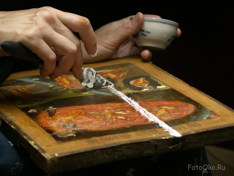 Реставрация картин своими руками