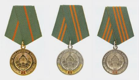 Медалями «За безупречную службу» награждены 12 сотрудников РОЧС нашего региона