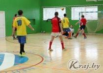 Турнир по мини-футболу проходил в Вилейке. Фото Юлии Лахвич, Край.бай