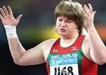 Бронзовая медалистка Олимпиады-2008 в толкании ядра Надежда Остапчук. Фото с сайта www.nv-online.info