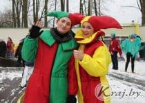 Масленица прошла в Нижнем парке Вилейки 26 февраля. Фото Юлии Лахвич, Край.бай