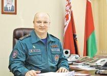 Дмитрий Бегун до назначения на пост замминистра МЧС. Фото: «Минск-Новости»