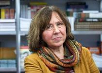 Белорусская писательница Светлана Алексиевич. Фото с сайта www.interfax.ru