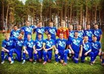 «Чисть» уже в первой лиге. Фото со страницы ФК «Чисть» ВКонтакте