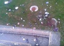 Девушка в Гродно выбрасывала из окна квартиры на 14 этаже одежду и бытовую технику