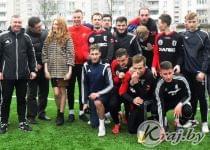 Сморгонцы в начале сезона были веселы, беззаботны и полны оптимизма. Фото Сергея Зенько, kraj.by
