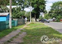 Улица Октябрьская в Вилейке летом. Фото из архива kraj.by