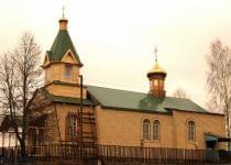 Церковь Святого Духа в деревне Речки Вилейского района до пожара. Фото с сайта Молодечненской епархии